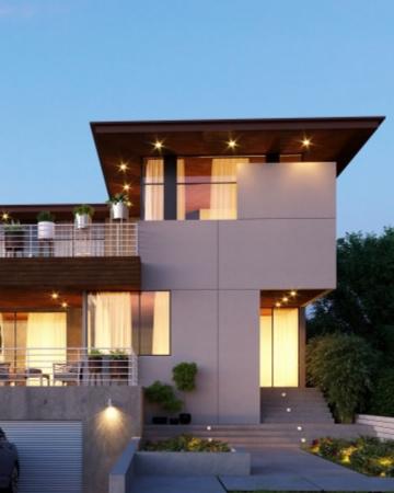 住宅のホームページ